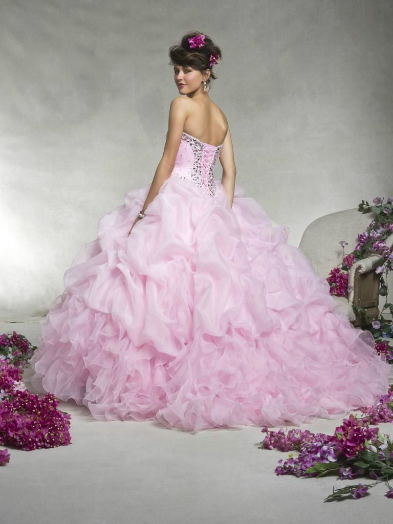 Aliexpress.com : Buy unusual purple/pink beaded sheer organza ...