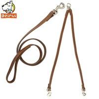 Multiple Coupler Leading & Double Walking Dog Leash Set for 2 Dogs Walking No Tangle Medium Large Breeds