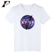 LUCKYFRIDAYF Hit hot efsf print Starry sky Funny TShirt Cotton Fashion fitness T-shirts Women/Men O-Neck clothing tee shirt