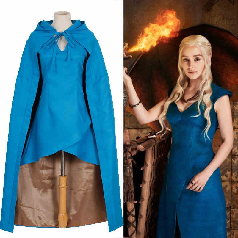 2015 New Game Of Thrones Daenerys Targaryen Cosplay