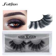 цена Fulljion 1Pair Faux Mink Lashes 3D Mink Eyelashes Thick Natural Individual False Eyelashes Extensions Artificial Lashes Makeups онлайн в 2017 году