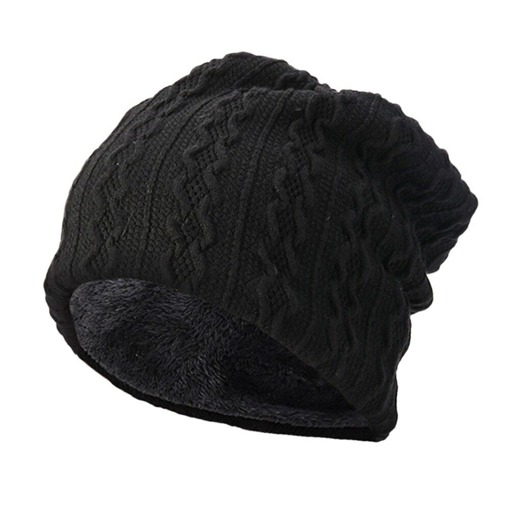Men Winter Hat Warm Baggy Camouflage Hat Crochet Winter Wool Ski Beanie Skull Caps Women Winter Hat 10.10 Apparel Accessories
