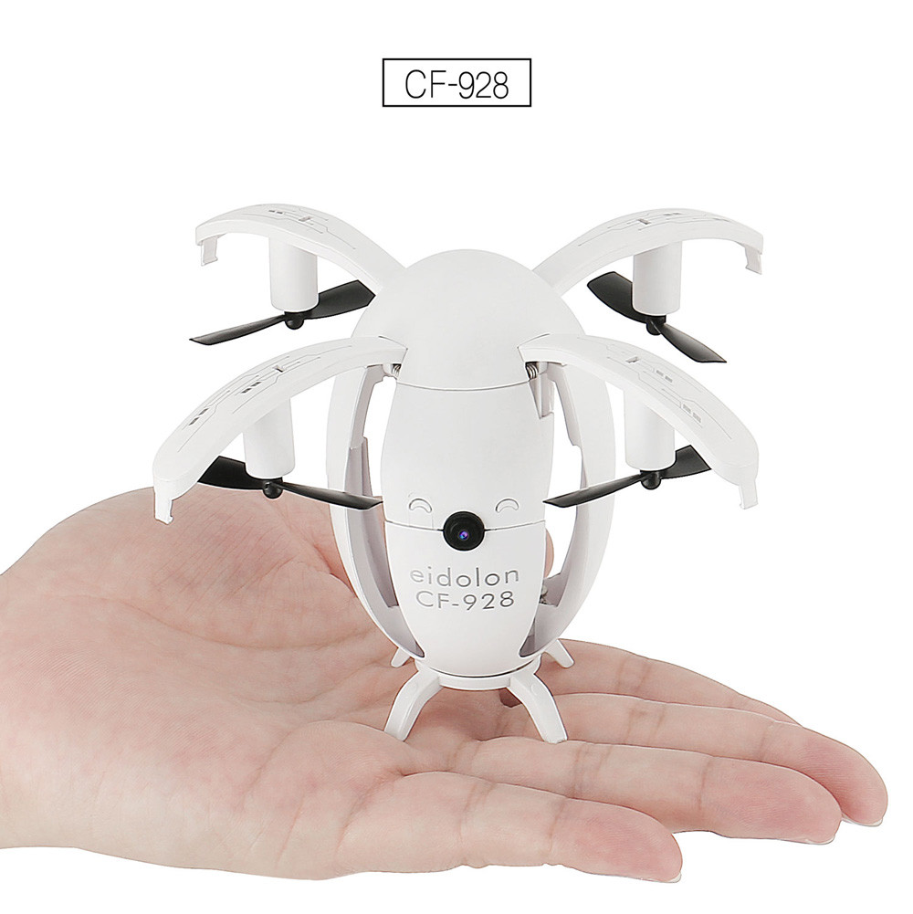 2.4GHZ 4CH 6-Axis Gyro RC Quadcopter Folding Transformable Egg Drone RTF With 2 megapixels Real Time Camera hot sale17Nov07