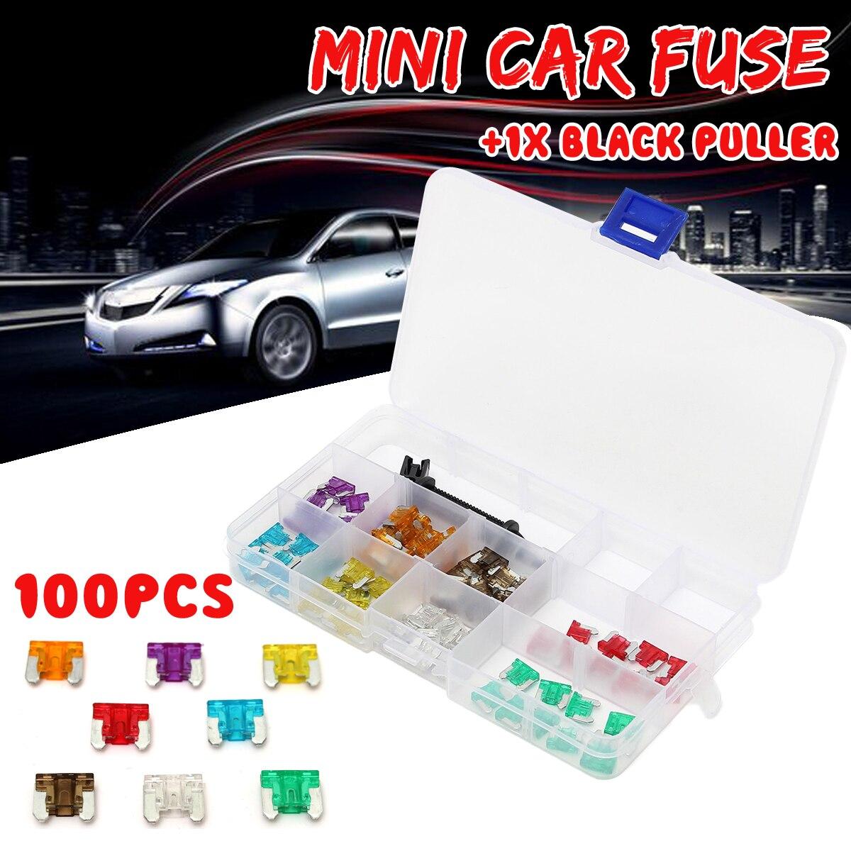CAR BLADE Mini Fuse Box KIT 5 10 15 20 25 30 AMP CITROËN Saxo 96