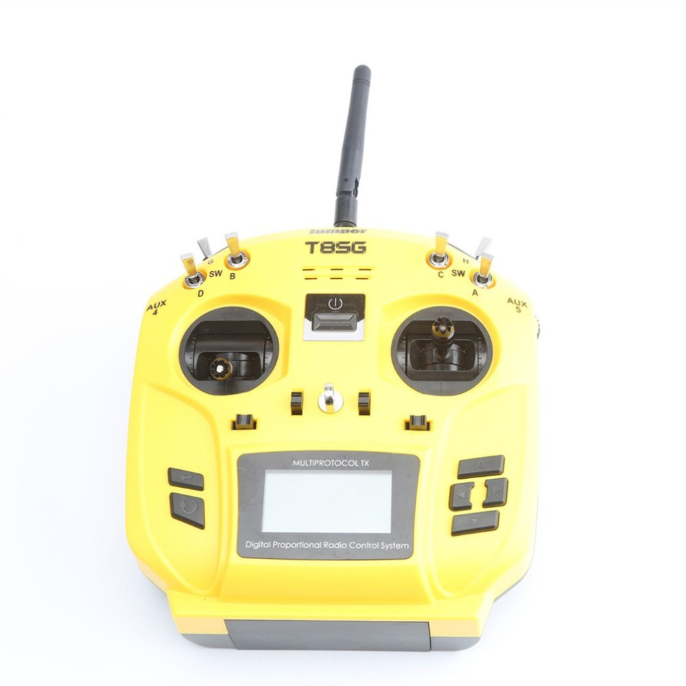 T8SG Jumper V2/V2.0 PLUS/Advanced Multi-Protocol 12CH Compact Transmitter for Flysky Frsky DSM2 Walkera Futaba RC Parts original walkera devo f12e fpv 12ch rc transimitter 5 8g 32ch telemetry with lcd screen for walkera tali h500 muticopter drone