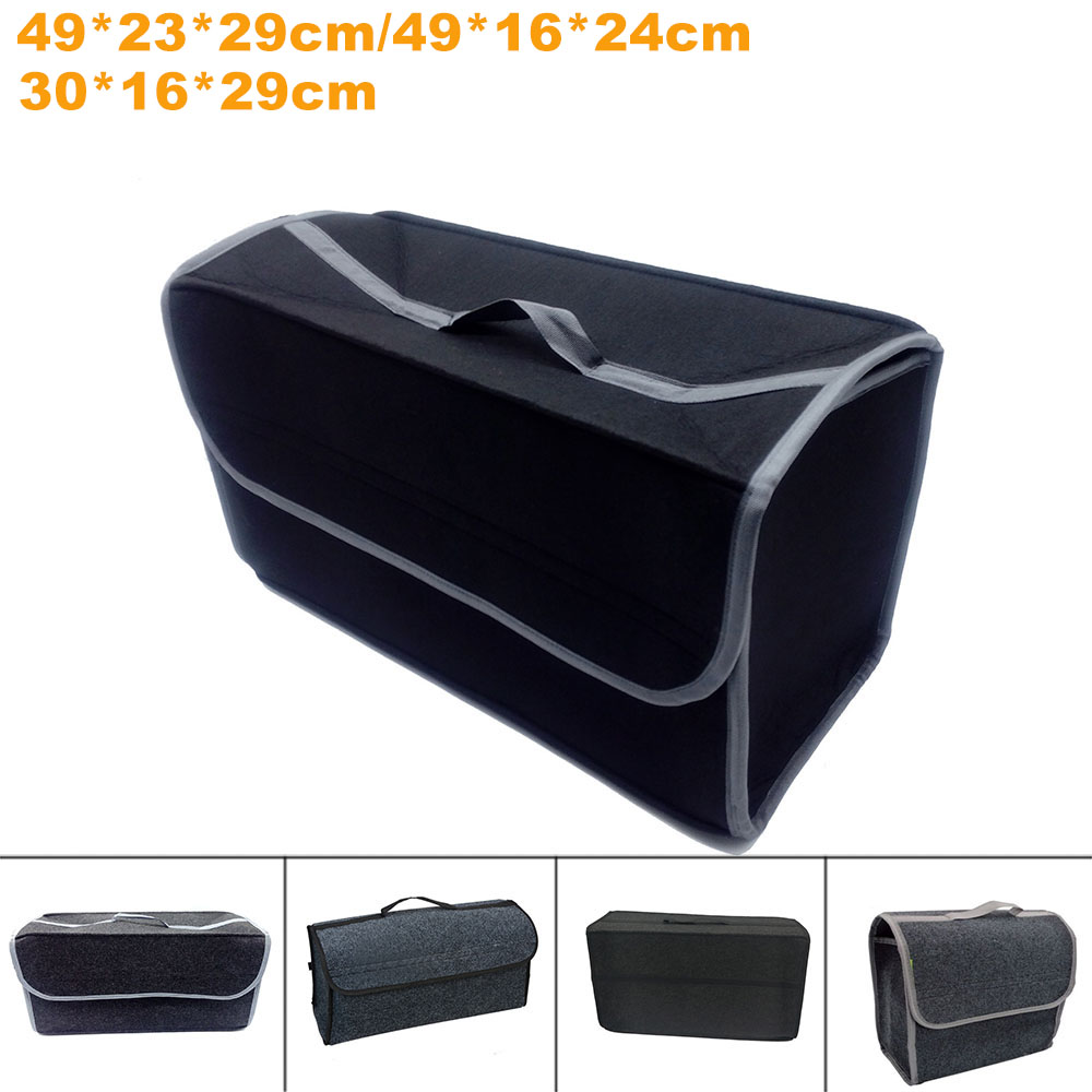 2018 Hot Foldable Multipurpose Car Trunk Organizer Storage Bag Box Car Stowing Tidying Auto Accessories Portable Storage Bag