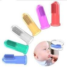 Портативное детское мягкое Силиконовое Зубное щетка для пальцев зубная щетка для зубов резиновый массажер щетка для чистки зубов