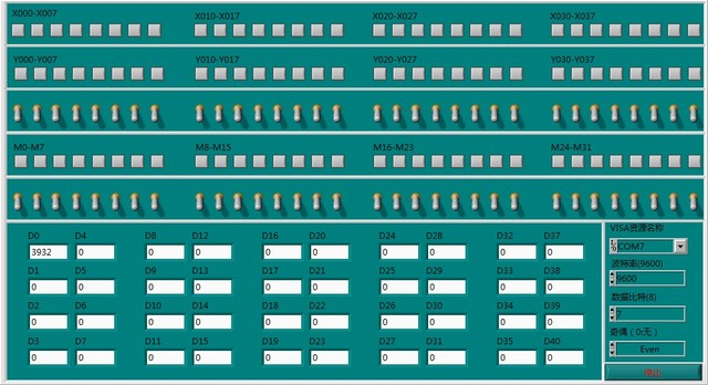 Free shipping     LabVIEW MITSUBISHI PLC FX programming port communication module