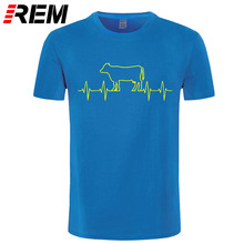 Cow Heartbeat tee shirt