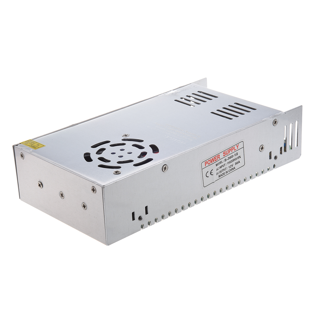 AC 110/220V DC 12V 30A 360W Switching Power Supply Converter for LED Flexable Strip Light