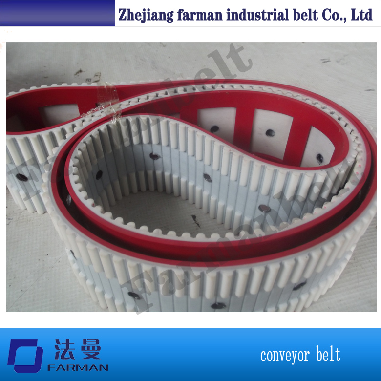 Pu timing belt with cleat high quality