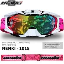 Heiße Verkäufe Professionelle Nenki Motocross Goggles Brille Gafas Motorrad Mask Schild 1015