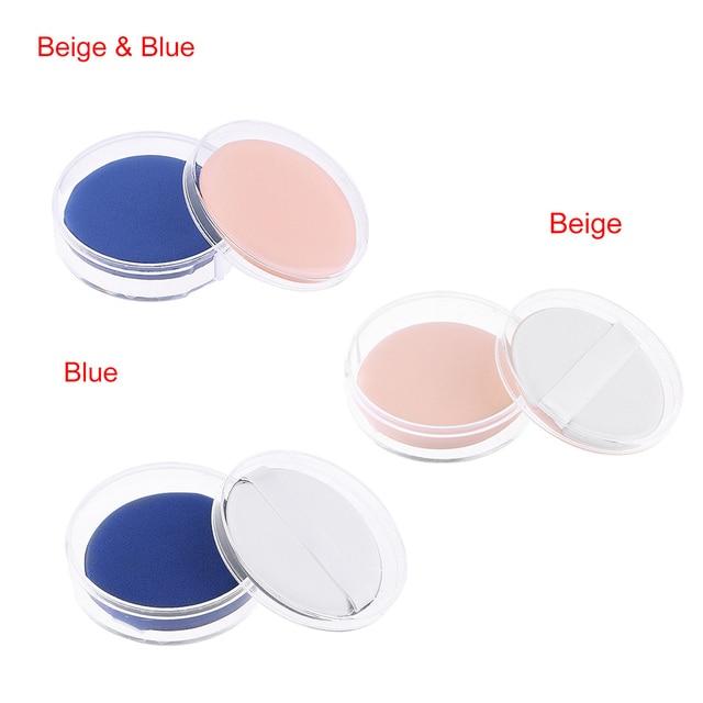 2Pcs/Set Fashion NEW Pro Powder Cosmetic Puff BB/CC Cream Foundation Concealer Sponge Air Cushion Puffs Makeup Tools Makeup Brushes