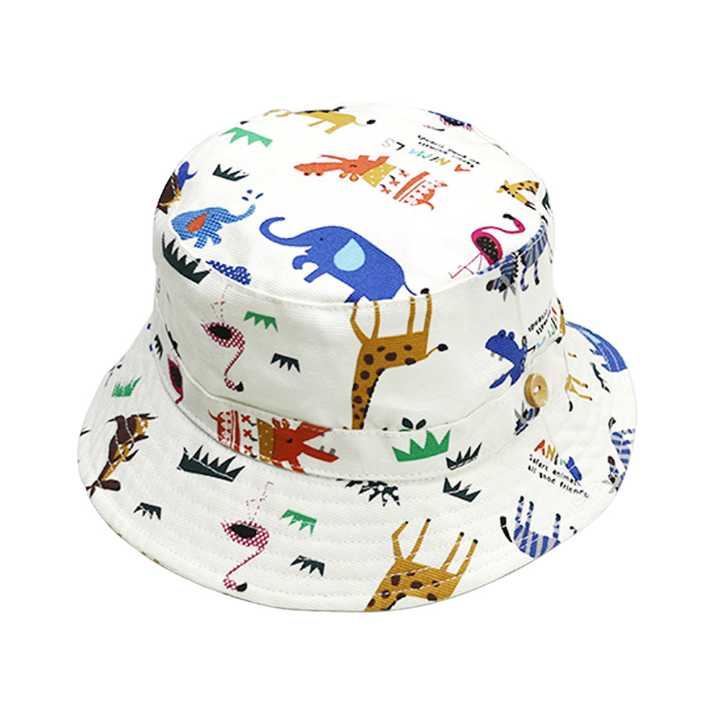 Mother & Kids Delicious Ideacherry Infant Summer Sun Cap Baby Girl Outdoor Cotton Visor Baby Floral Prints Beach Bucket Hats 1-3 Years Headwear Brim Hat Accessories