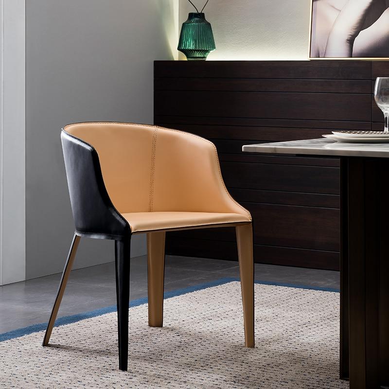 Italian Modern Fashion Simple Armchair