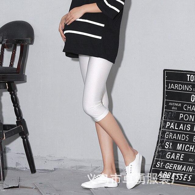 2016 Новая Мода Gravida Материнства Узкие Брюки Уход Живота Леггинсы Одежда Для Беременных Женщин Ropa Mujer 4 Цветов Бесплатная Доставка