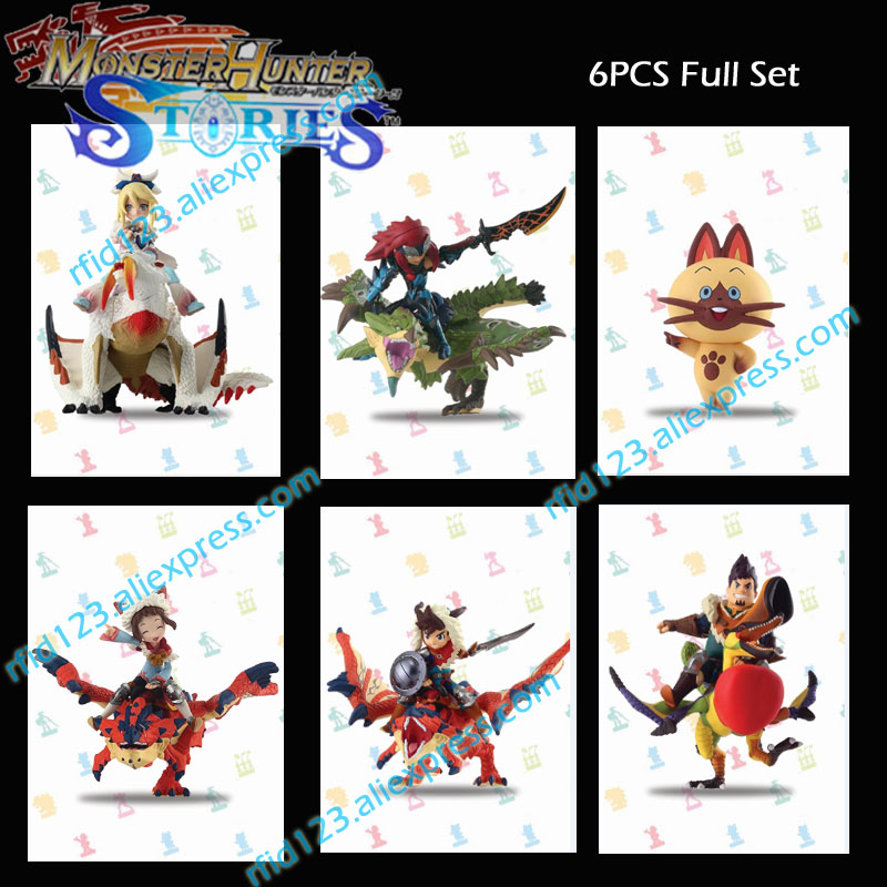 6PCS NFC Amiibo Card Amiibo Coinfor Monster Hunter
