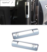 Lapetus Accessories For Land Rover L462 Discovery 5 2017 2018 2019 Pillar B Air Conditioning Outlet Vent Molding Cover Kit Trim цена в Москве и Питере