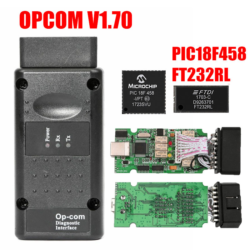 Image 4 - 2019 OPCOM Firmware V1.59 V1.65 V1.70 V1.78 V1.95 V1.99 PIC18F458+FTDI Chip OP COM 1.99 Newest SW 2014 Op com For Opel-in Car Diagnostic Cables & Connectors from Automobiles & Motorcycles