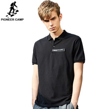 Pioneer Camp 100% Cotton Mens Polo Shirt High Quality Short Sleeve  Slim Brand simple 2019 ADP901087