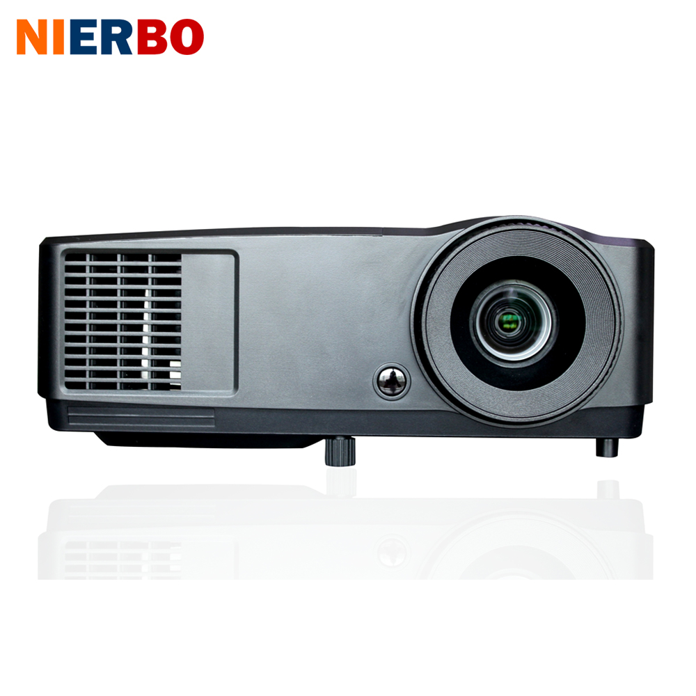 все цены на NIERBO 3D Projector Daytime Projector Full HD Beamer 1024*768 Native DLP Chip 203W lamp Support 1920*1080P HDMI Port 5600 lumens онлайн