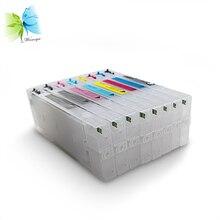 300ml For Epson 4000 7600 9600 Inkjet Printer Refillable Ink Cartridge T5441 T5442 T5443 T5444 T5445 T5446 T5447 T5448