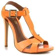 Black Women Shoes T-straps Thin High Open Toe Heel Stilettos Women Sandal chaussure femme Summer Style gladiator sandals women