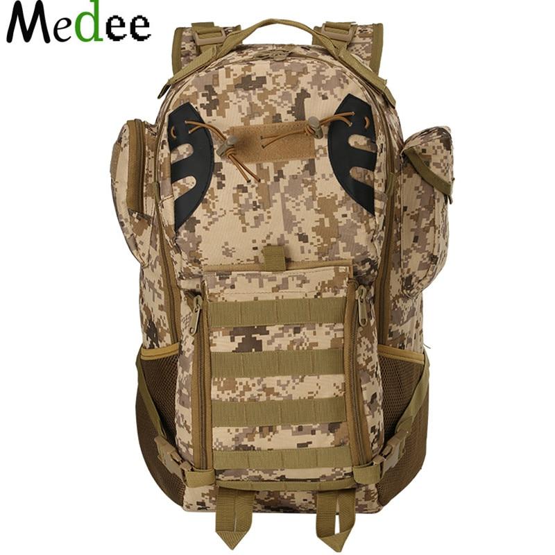 Medee 2017 Notebook Backpack Camouflage Waterproof Cs Mountaineering Package 35l Canvas Backpacks Sac A Dos Randonnee Bpk153