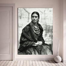 Frida HD Solemn Photo Wall Art Canvas Poster and Print Canvas Painting Decorative Picture For Office Living Room Home Decoration