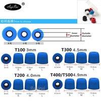 100 Pcs 50 Pairs T100 T200 T400 T500 S M L Caliber Ear Pads Cap For