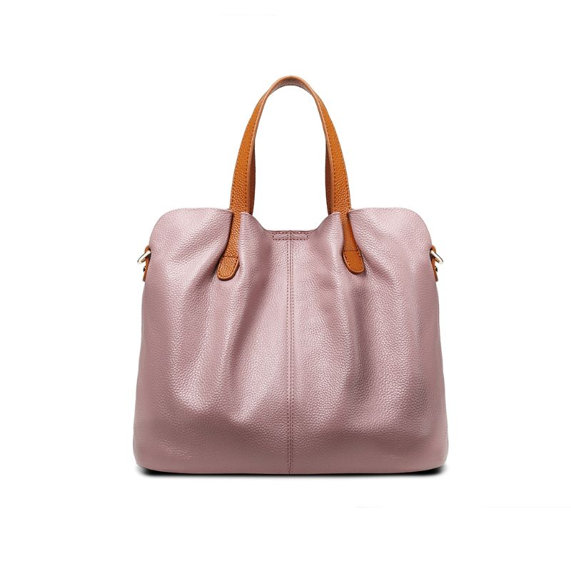 2 pièces en cuir véritable sacoche bandoulière sac fourre-tout sac à main avec sac intérieur sac à main pour les femmes plage voyage partie utiliser des fournitures