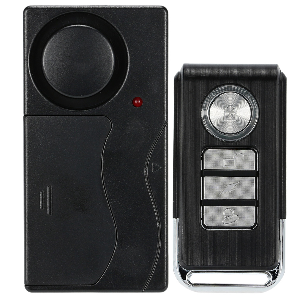Wireless Remote Control Door Vibration Sensor Alarm Home