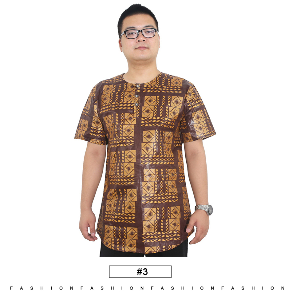 2020 Md African Clothes For Men Plus Size African Print T Shirt Men Short Sleeve Cotton Mens Tops 2019 Fashion T Shirts From Honjiao 16 09 Dhgate Com