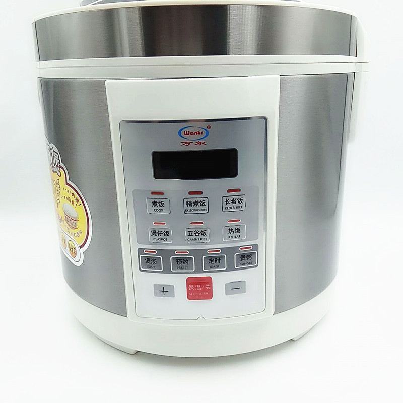 220V 3L 4L 5L Electric Rice Cooker High Temperature Resistant Ceramic Multifunctional Electric Rice Cooker With English Button 2l 3l 4l 5l 6l latest technology gold rice cooker pot aluminum alloy tank for intelligent rice cookers