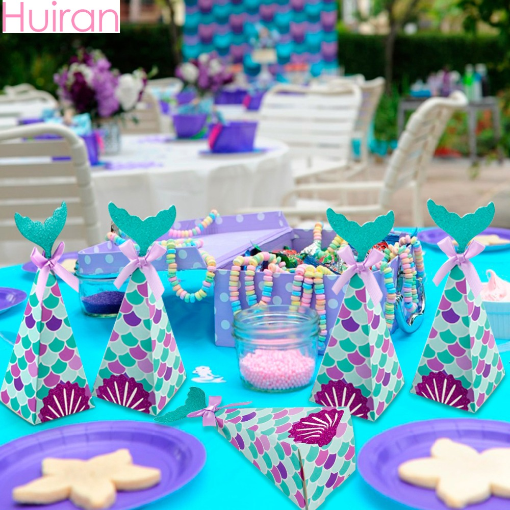 Huiran Mermaid Candy Box Wring