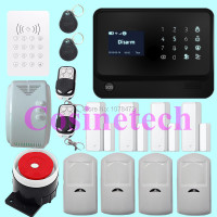 New Product WiFi Alarm System Door Gap Sensor Internet GSM Alarm System Home Alarm Security Outdoor