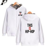 LUCKYFRIDAYF Wiz Khalifa Thick Sweatshirt Hip Pop Hoodie Winter High Quality Cotton Hoodies Men Zipper Sweatshirts Fashion Print
