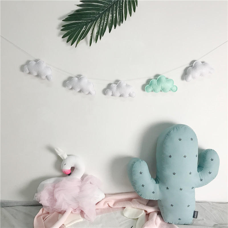 5PC-Set-Hot-Sale-Felt-Cloud-Garland-Party-Banner-Kids-Room-Nursery-Hanging-Wall-Decor-Christmas (2)
