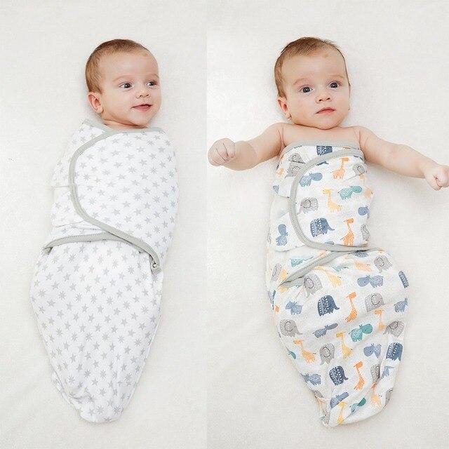 LionBear bé Bọc Trẻ Con Bằng Tả phong bì cho trẻ sơ sinh 100% Cotton 0-6 Tháng kén bé Túi Ngủ Ăn Chăn Sleepsack Mềm bọc