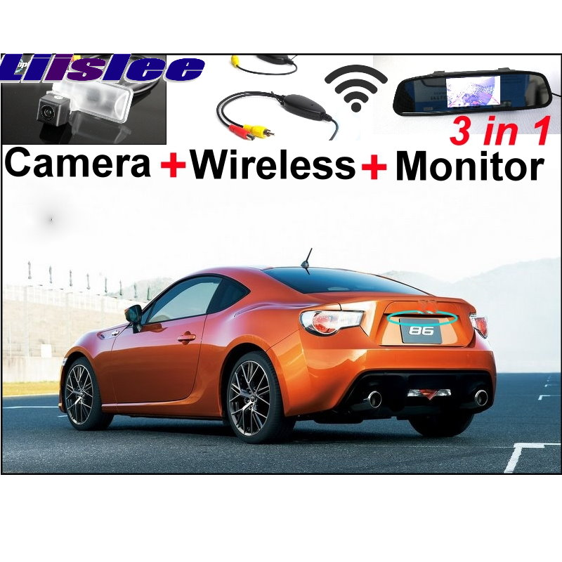Liislee Special Car WiFi Camera + Wireless Signal + Mirror Screen Parking System For TOYOTA GT 86 FT BRZ FR-S FRS 2012~2015