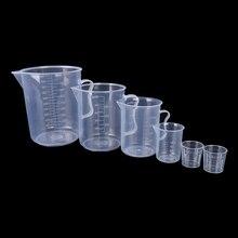 20 Вт, 30 Вт, 50/300/500/1000ML PP Пластик фляга цифровая мерная чаша шкала цилиндра измерения Стекло лаборатория инструменты