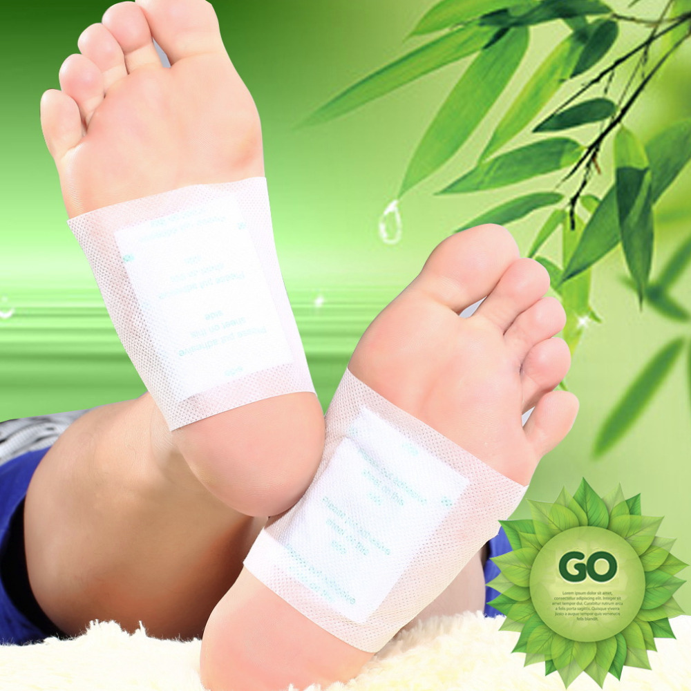 10pcs/lot Adhesives Slimming Patch Detox Foot Patch Bamboo Pads Patches With Adhesive Improve Sleep Beauty meiyanqiong 20pcs lot detox foot patches pads nourishing repair foot patch improve sleep quality slimming patch loss weight care