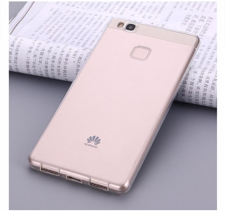 Ultra-cienki przezroczysty miękka tpu case dla huawei p8 p9 plus p8 lite krzemu gradientu telefon ochronna pokrywa dla huawei p9 Shell 13