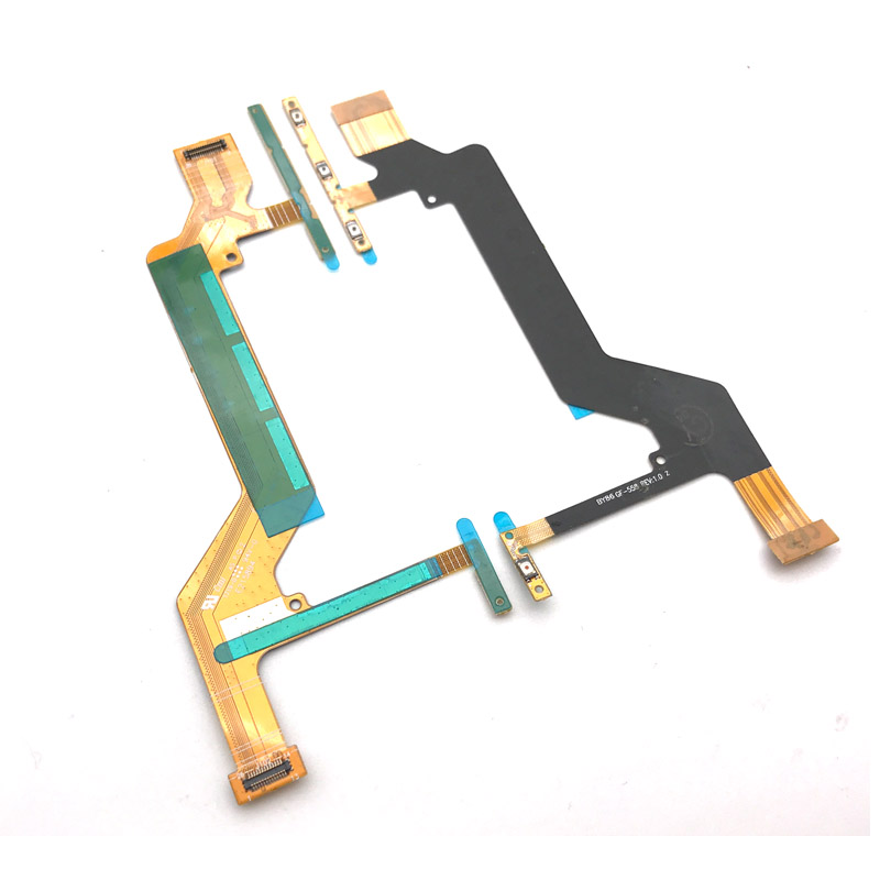 For Sony Xperia XA1 Ultra G3221 G3212 G3223 G3226 Power On Off Volume Button Flex Cable Ribbon Repair Parts In Mobile Phone