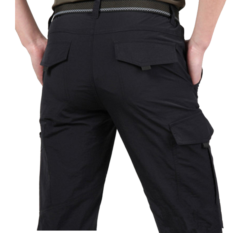 Breathable lightweight Waterproof Quick Dry Casual Pants Men Summer Army Military Style Trousers Men s Tactical Breathable lightweight Waterproof Quick Dry Casual Pants Men Summer Army Military Style Trousers Men's Tactical Cargo Pants Male