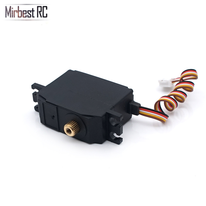 Image 3 - Metal gear servo torque 5kg WLtoys 12428 12423 brushless parts upgrade 1/12 RC car DIY accessories 1/18 car Remo Hobby SmaxParts & Accessories   -