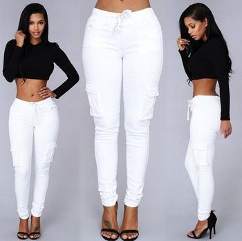 Elastic Sexy Skinny Pencil Jeans For Women Leggings Jeans Woman High Waist Jeans Women's Thin-Section Denim Pants 10