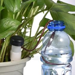 8 pçs/lote interior sistema de rega irrigação por gotejamento automático planta waterers para houseplant visto novidade famílias