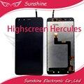 Tela sensível ao toque para Highscreen Hercules Display LCD com Tela de Toque Digitador Assembléia Painel
