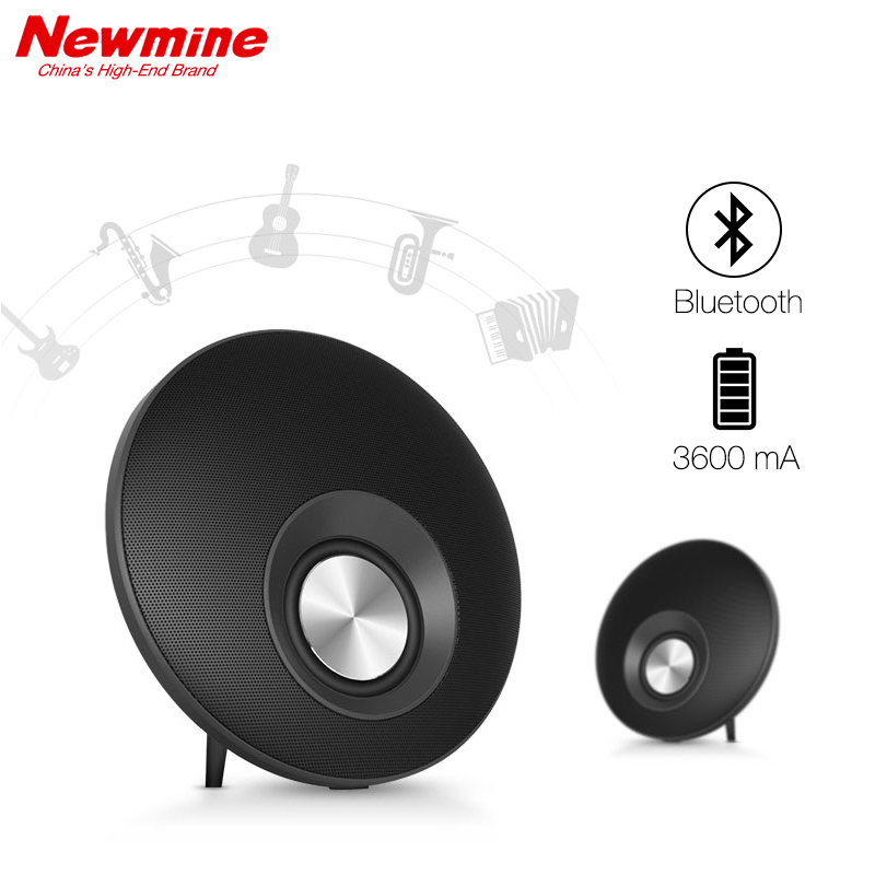 NEWMINE AK11 Portable Wireless Bluetooth Speakers for Computer Phone MP3 With Mic TF Card Better Bass China's High-End Brand mymei best price new portable 3 5mm pillow speaker for mp3 mp4 cd ipod phone white